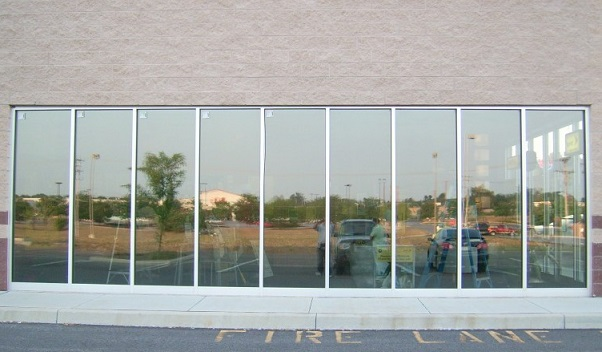 Commercial Dual Reflective Window Film