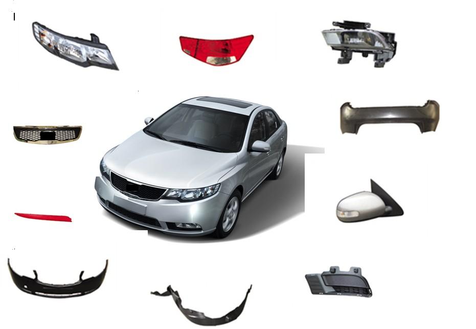 names of car exterior body parts